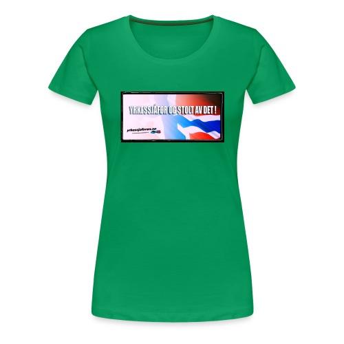 Stoltnorsk2 - Premium T-skjorte for kvinner