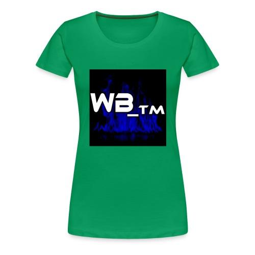 WB TM LOGO - Women's Premium T-Shirt
