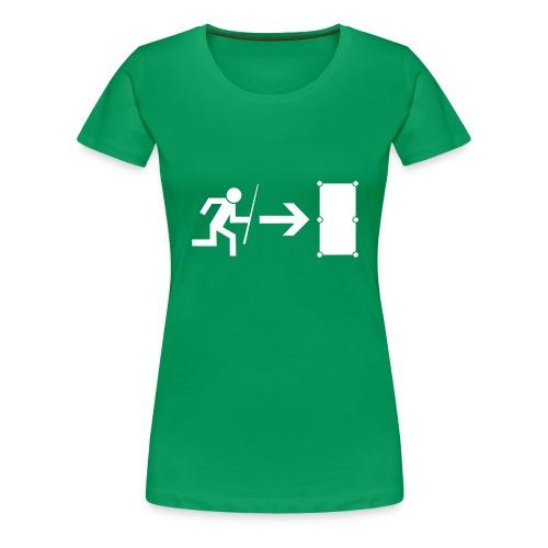 Emergency Exit Billard - Frauen Premium T-Shirt