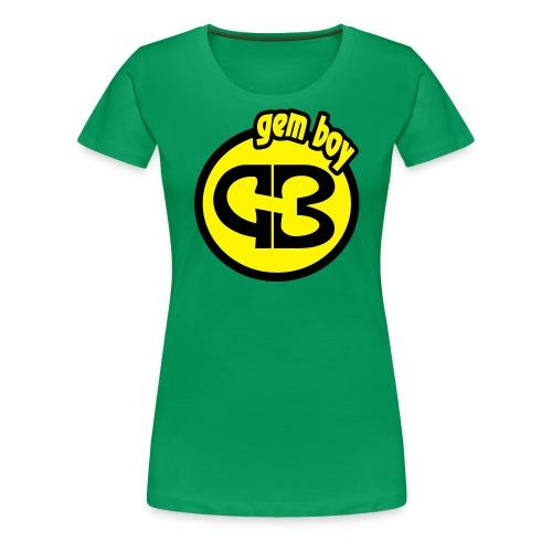 Gem Boy logo tondo - Maglietta Premium da donna