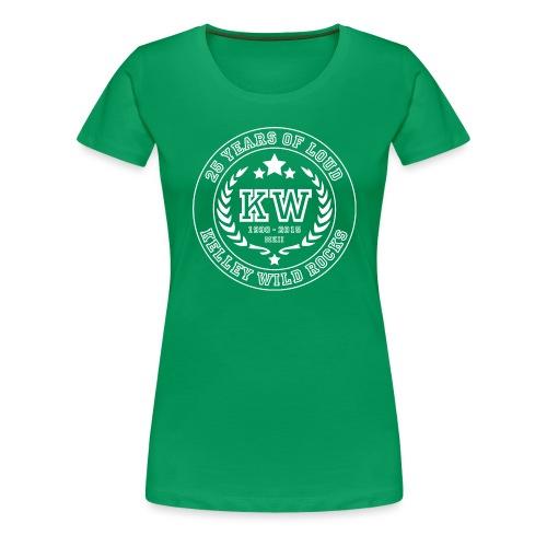 OneRingToRule 25th 002 white png - Frauen Premium T-Shirt