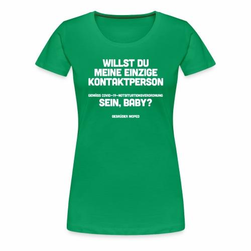 Kontaktperson - Frauen Premium T-Shirt