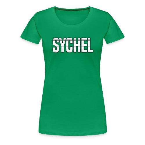 Sychel Bold Logo - Women's Premium T-Shirt