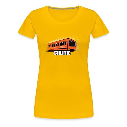 08 - METRO SIILITIE - HELSINKI - LAHJATUOTTEET - Naisten premium t-paita