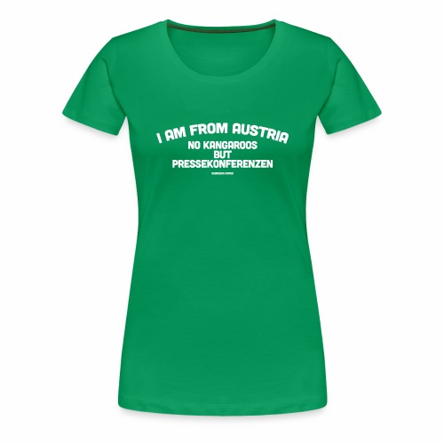 Pressekonferenzen - Frauen Premium T-Shirt