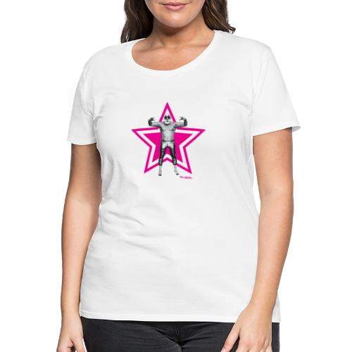 Hazy Logo - Frauen Premium T-Shirt