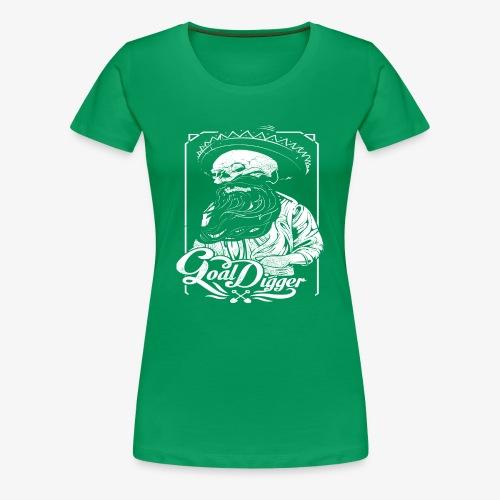 Cool Digger - Vrouwen Premium T-shirt