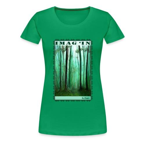 La Forêt - T-shirt Premium Femme