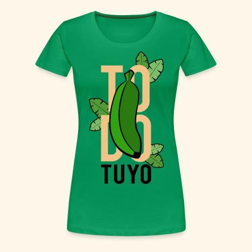 Camiseta Platanera TODO TUYO (LAVAINA) - Camiseta premium mujer