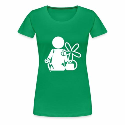 Gärtnerin - Frauen Premium T-Shirt