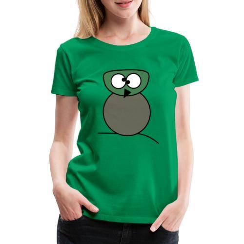 Owl crazy - c - Frauen Premium T-Shirt