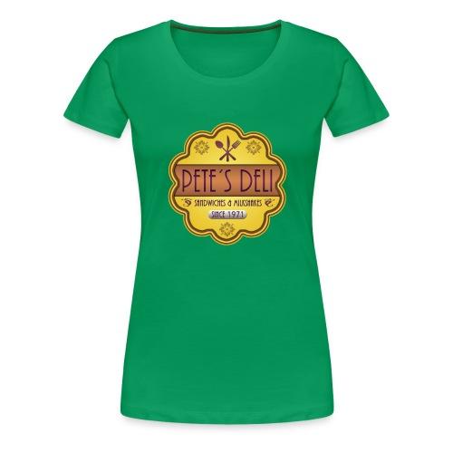 petes_deli - Frauen Premium T-Shirt