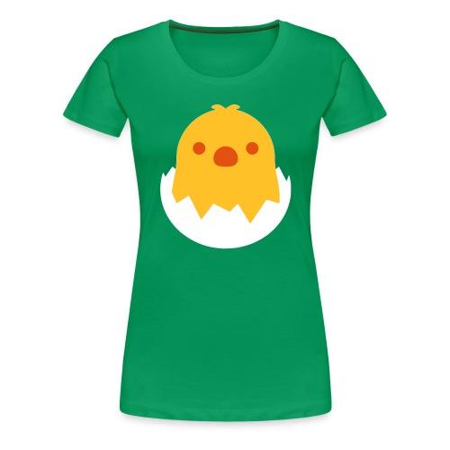 CUTE CHICKEN - EMOJI / SMILEY - Frauen Premium T-Shirt