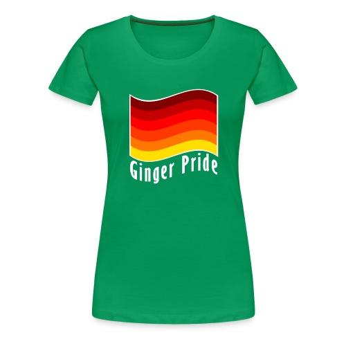 Ginger Pride flag png - Women's Premium T-Shirt