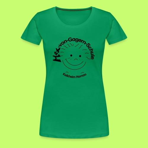 Mäxchen Logo schwarz - Frauen Premium T-Shirt