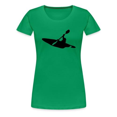 kayak-1.png - Premium T-skjorte for kvinner