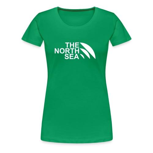 thenorthsealogo klein 75 30 zonder c - Vrouwen Premium T-shirt
