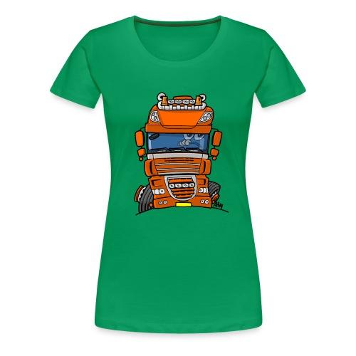 0793 D truck - Vrouwen Premium T-shirt