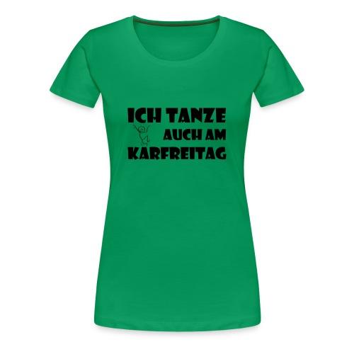tanzschwarz png - Frauen Premium T-Shirt