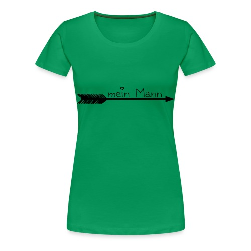mein Mann 4 - Frauen Premium T-Shirt