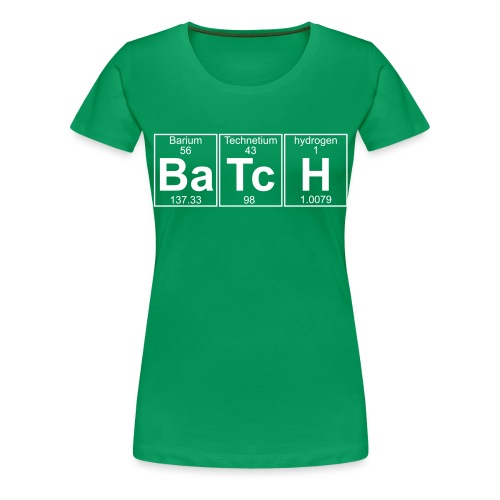 Ba-Tc-H (batch) - Full - Women's Premium T-Shirt