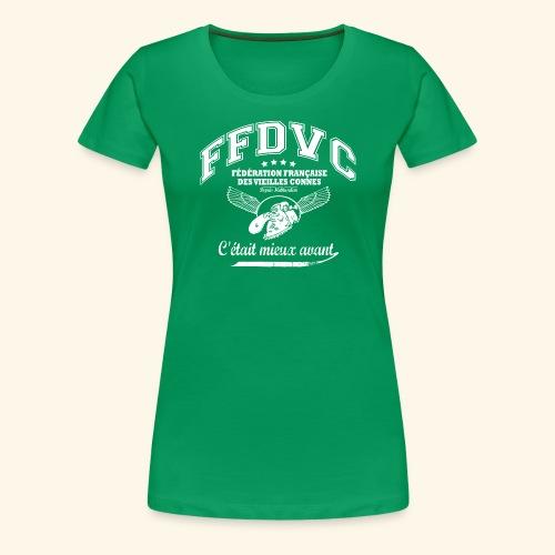 Fédération Française des Vieilles Connes - T-shirt Premium Femme
