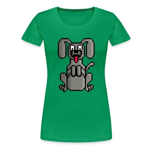 PerroPixelArt - Camiseta premium mujer