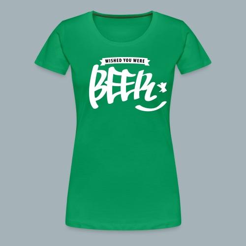 Beer Premium T-shirt - Vrouwen Premium T-shirt