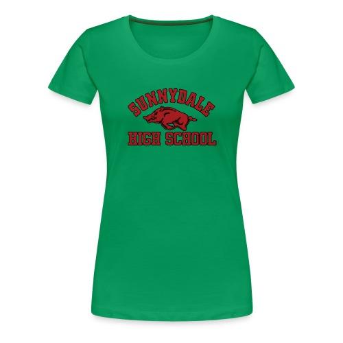 Sunnydale High School logo merch - Vrouwen Premium T-shirt