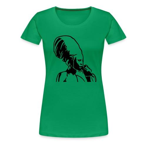 singer - Frauen Premium T-Shirt