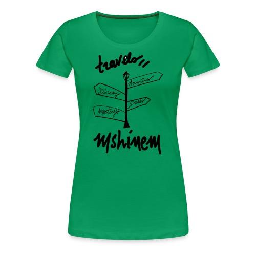 travels visu - T-shirt Premium Femme