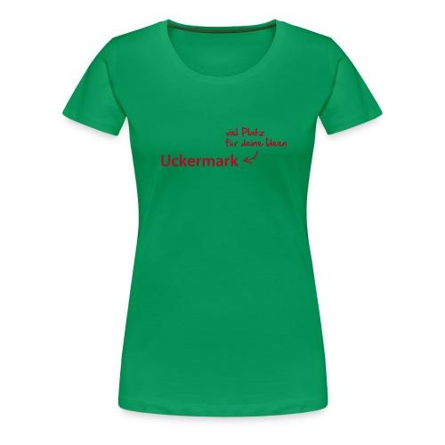 tshirt fonttest - Frauen Premium T-Shirt