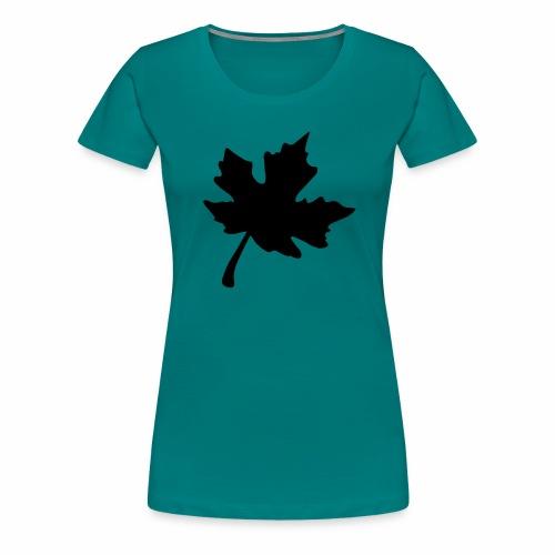 Ahorn Blatt - Frauen Premium T-Shirt