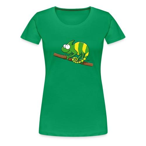 chamaeleon - Frauen Premium T-Shirt