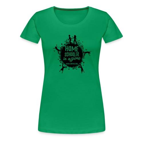 Homeschooler in azione - Maglietta Premium da donna