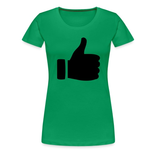 I like - gefällt mir! - Frauen Premium T-Shirt