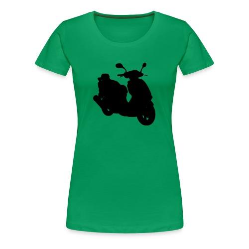 Daelim Otello Silhouette von vorne rechts - Frauen Premium T-Shirt