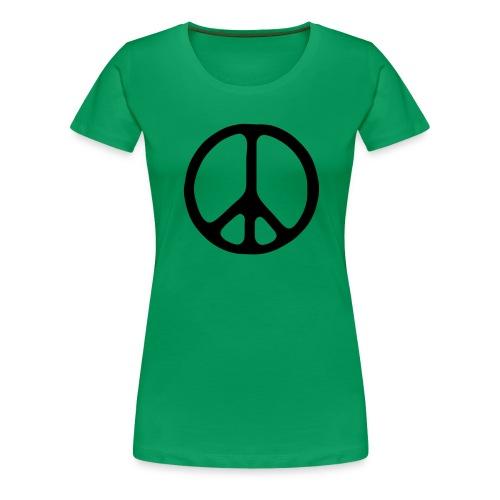 Peace sign - Premium-T-shirt dam