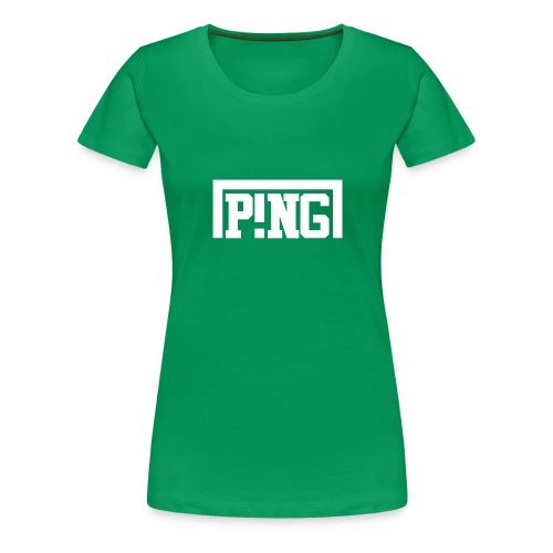 ping2 - Vrouwen Premium T-shirt