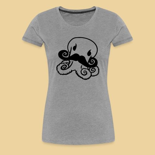 Gentle Octo - Frauen Premium T-Shirt
