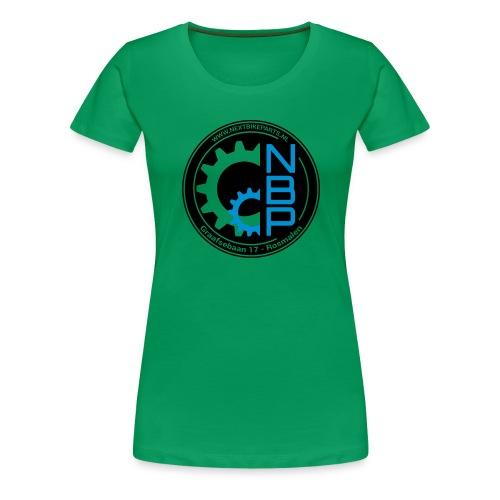 Shirt-NBP-BlackBlue (1) - Vrouwen Premium T-shirt