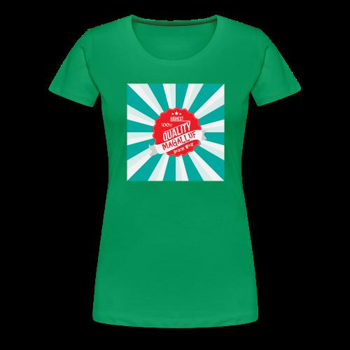 Magalluf-Badge - Women's Premium T-Shirt