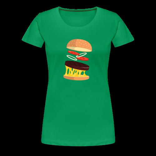 Hamburger Men - Women's Premium T-Shirt