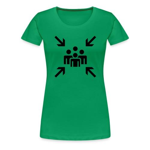 Sammelpunkt - Frauen Premium T-Shirt