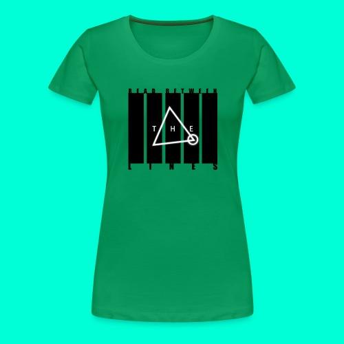 ReadBetween - Naisten premium t-paita