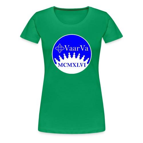 Hihamerkki - Naisten premium t-paita