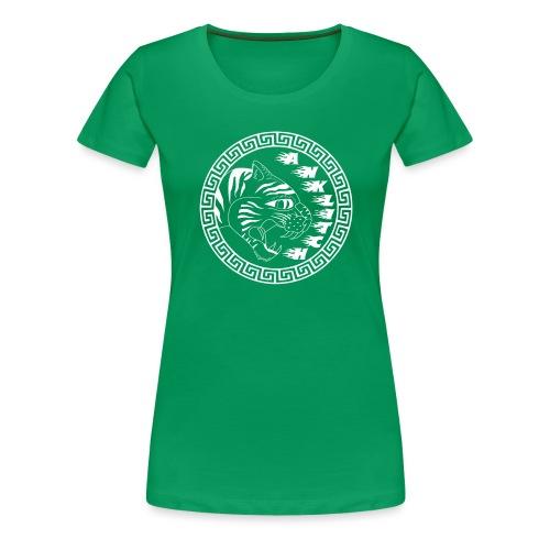 Anklitch Logo wit - Vrouwen Premium T-shirt