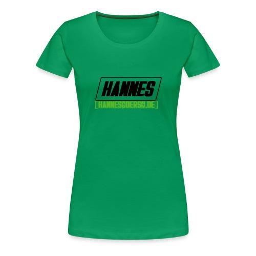 Hannes Logo - Frauen Premium T-Shirt