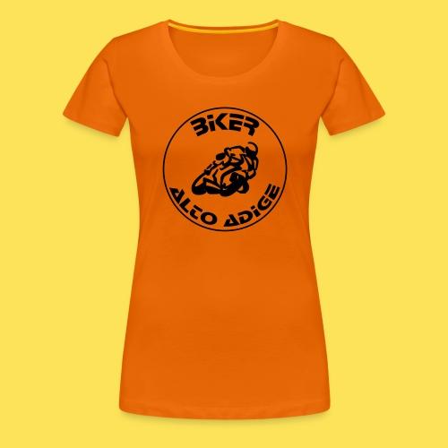 BikerAltoAdige circle logo Jacket - Maglietta Premium da donna