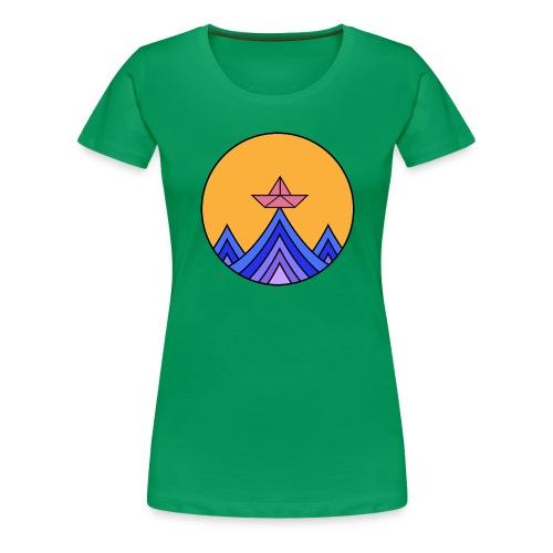 papierboot2 - Frauen Premium T-Shirt
